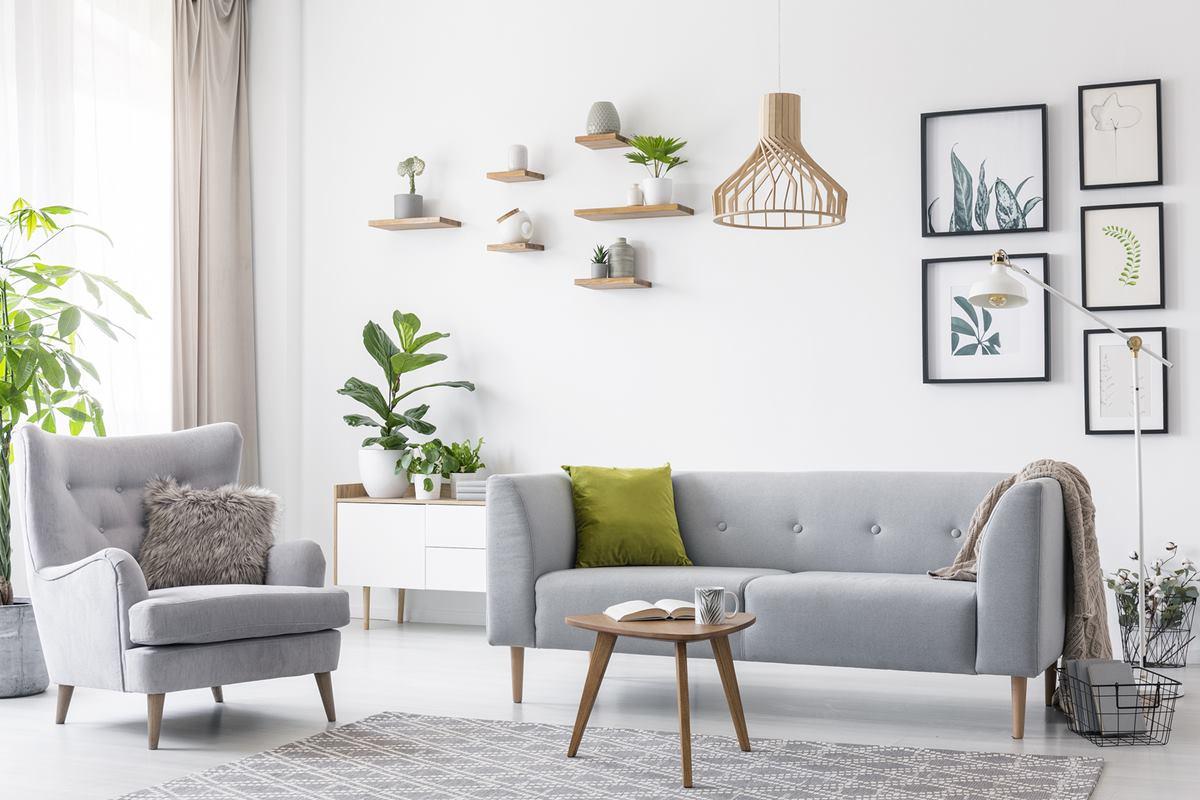 Affordable living room renovation