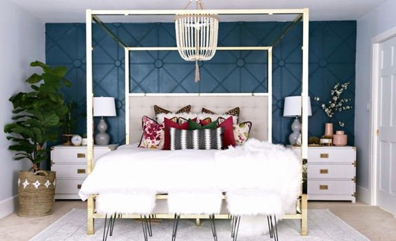 6 Amazing Accent Wall Ideas for Your Bedroom
