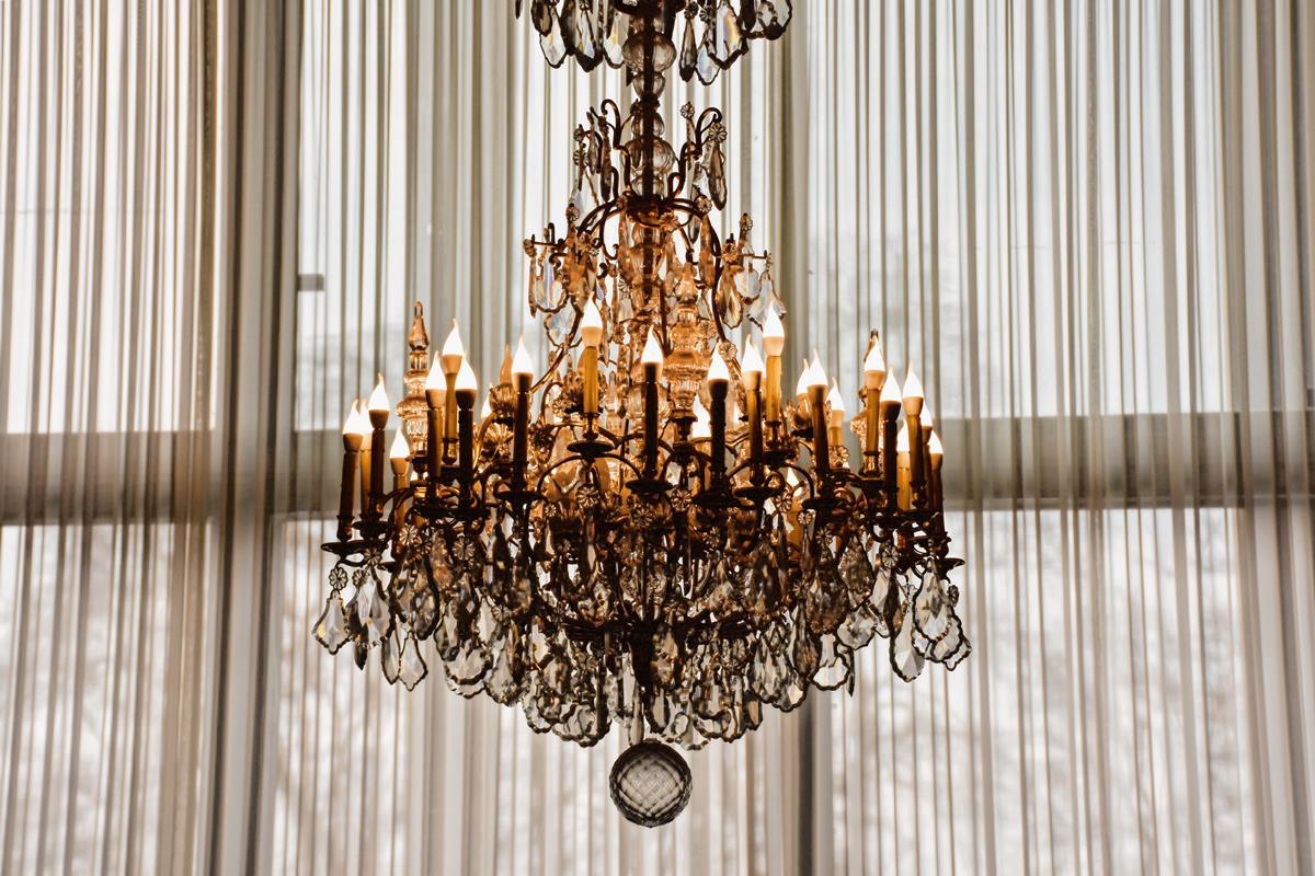 Impressive chandelier