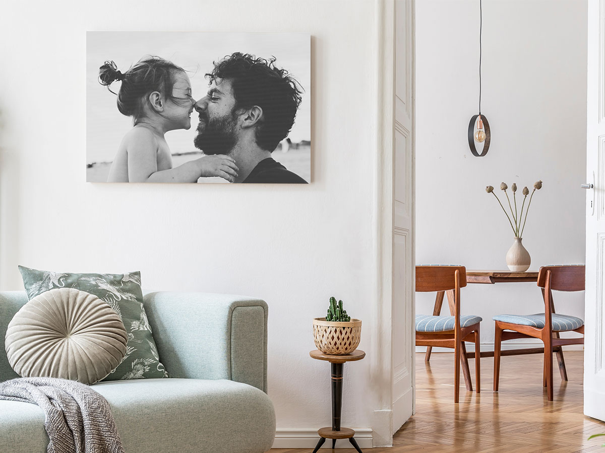 Personalized canvas wall art