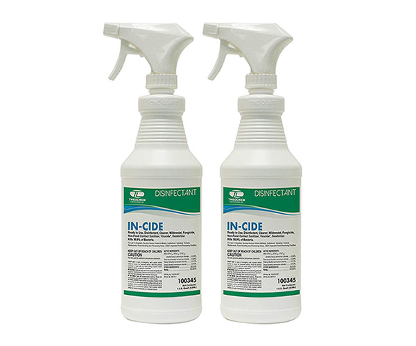 Specialized antibacterial sprays or disinfectants
