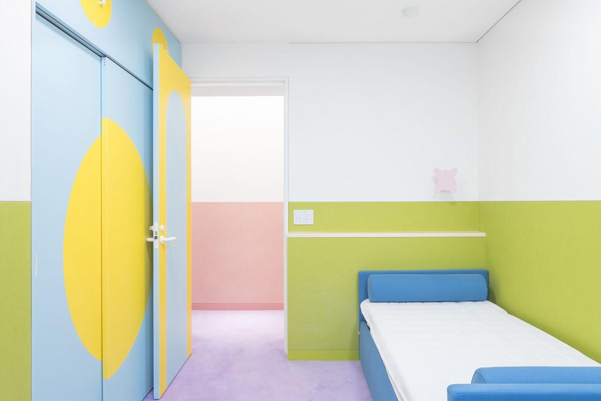 Pastel colors bedroom