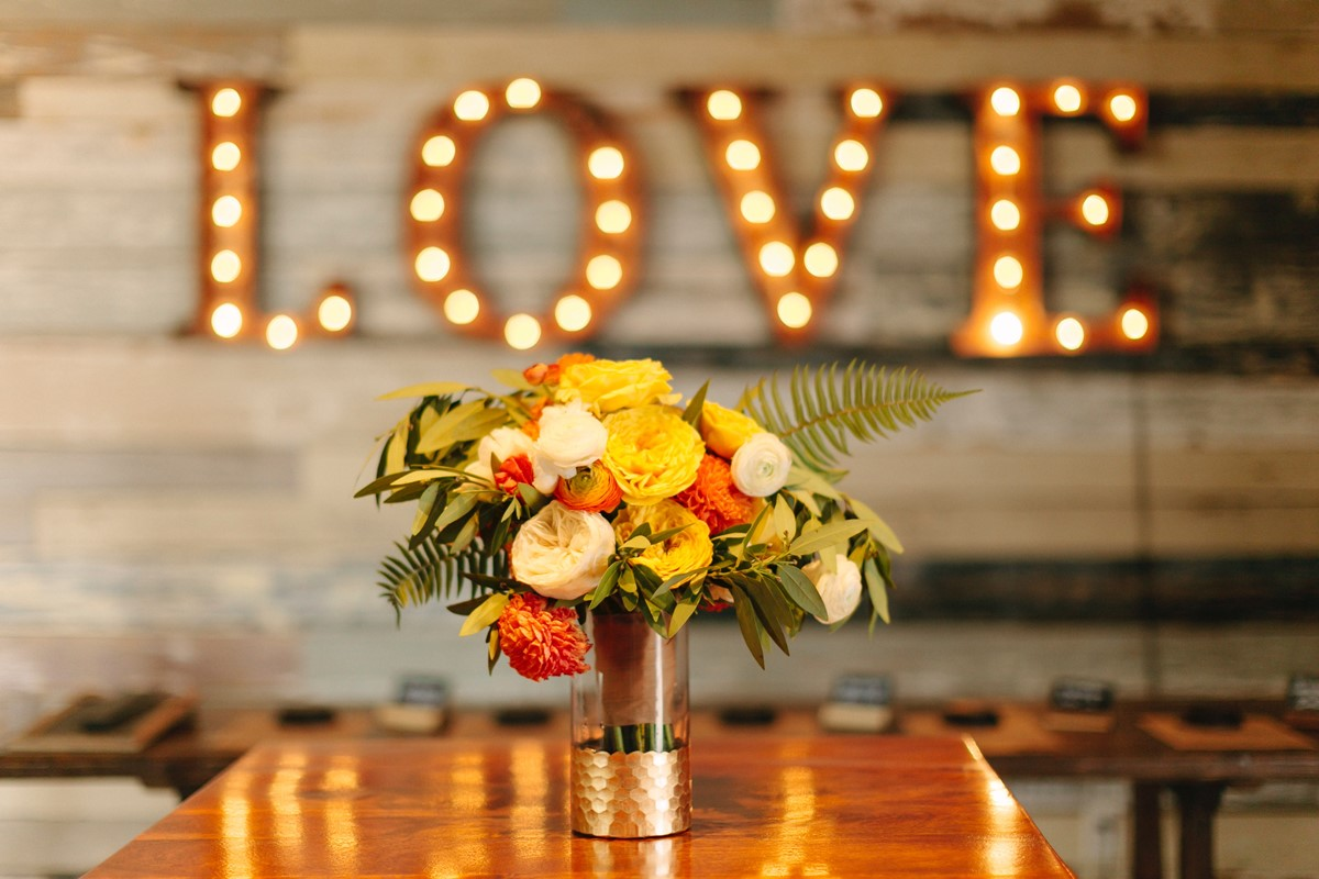 Reuse wedding decor in your home