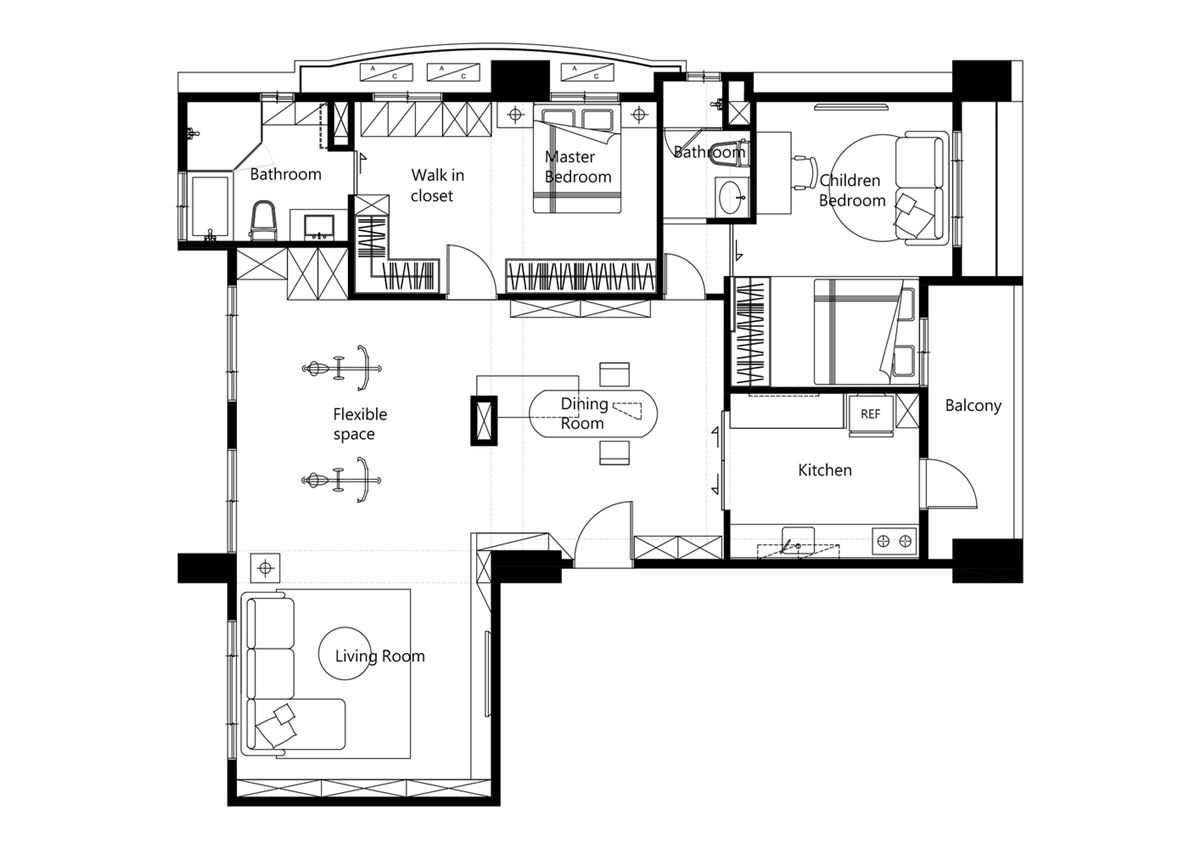 Ne_On apartment plan