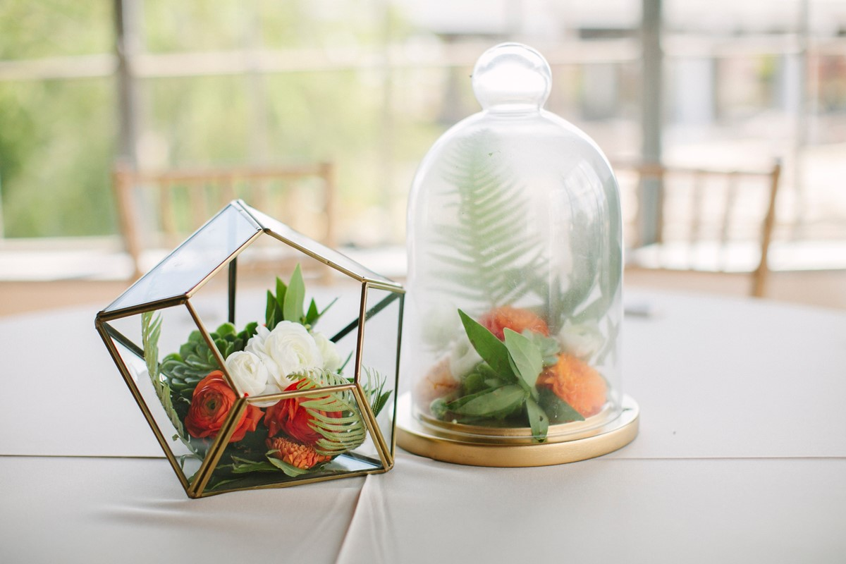 Wedding vases as home decor