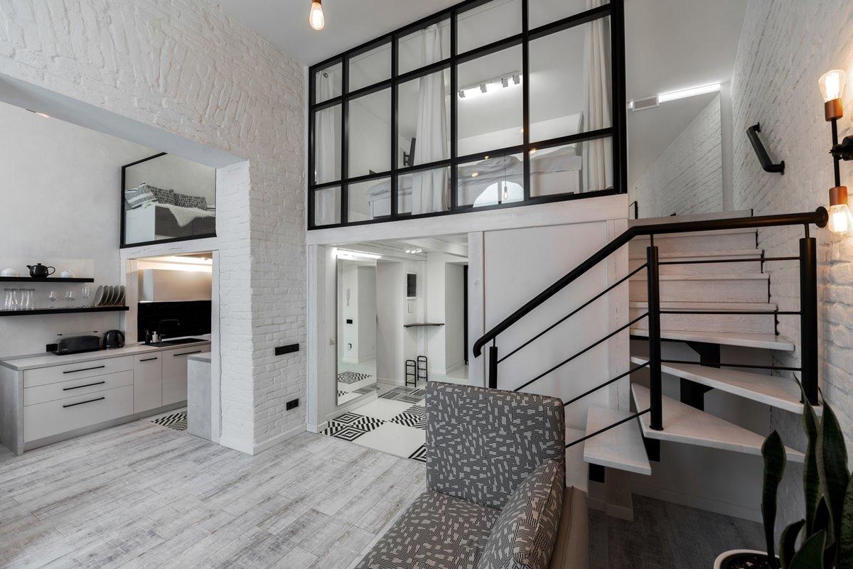 Black and White Loft