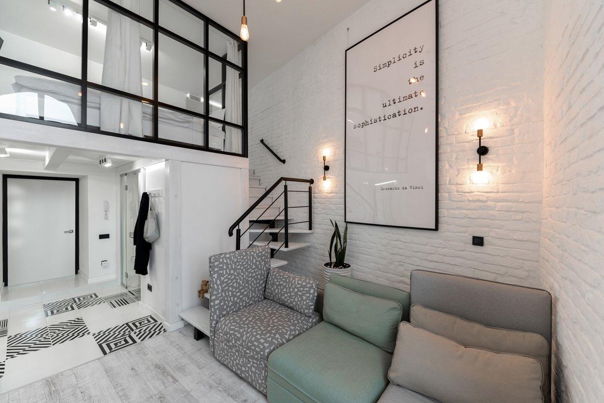 Modern urban loft design