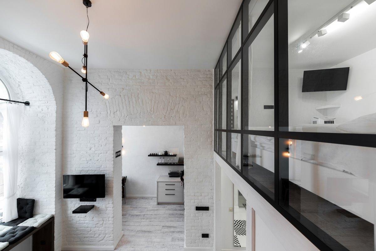 White loft design