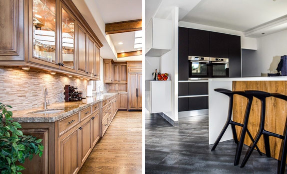Comparing Traditional and Contemporary Kitchen Styles