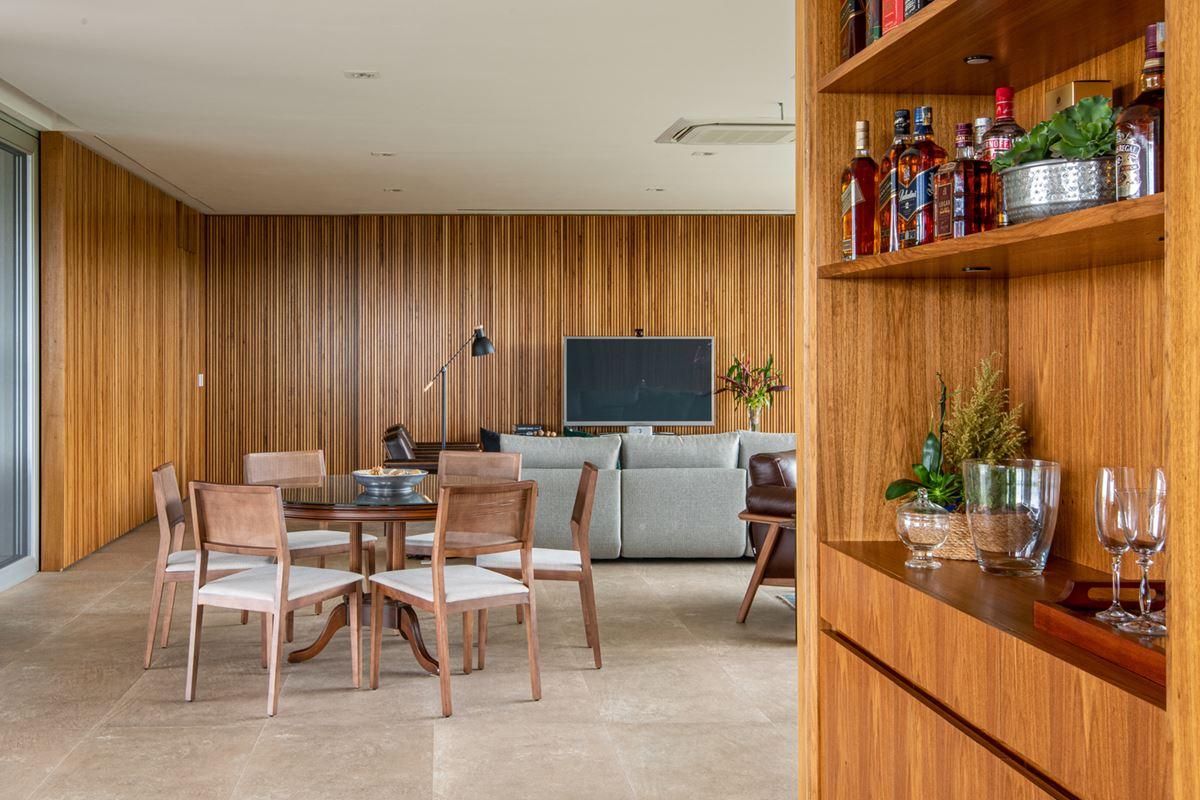 Modern wooden interiors