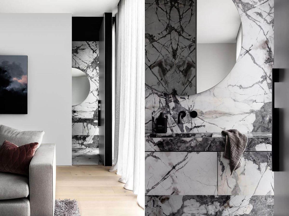 Scalpellino House - ground floor bathroom