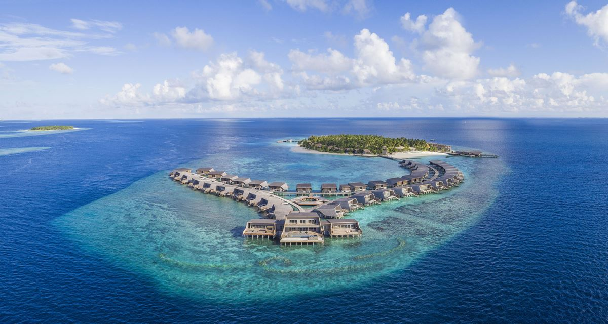 St. Regis Maldives Vommuli Resort - sky view