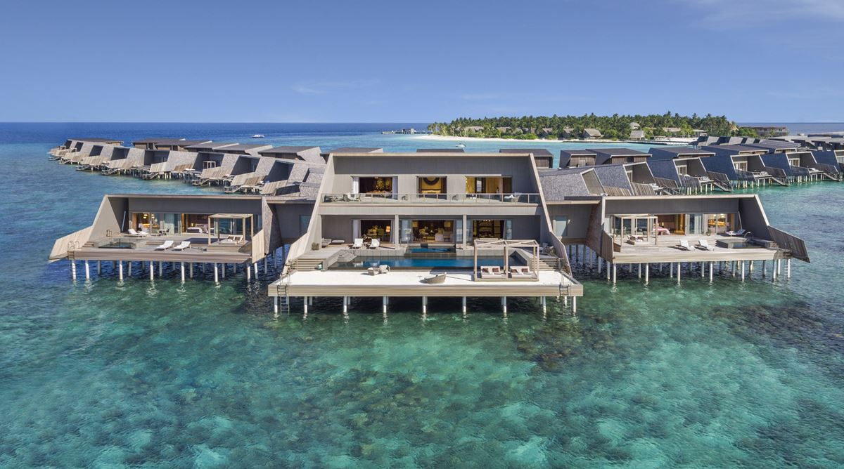 St. Regis Maldives Vommuli Resort - houses