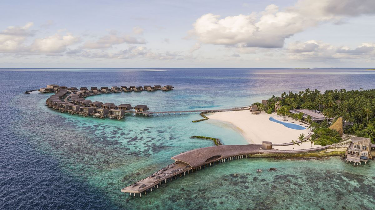 St. Regis Maldives Vommuli Resort - the island