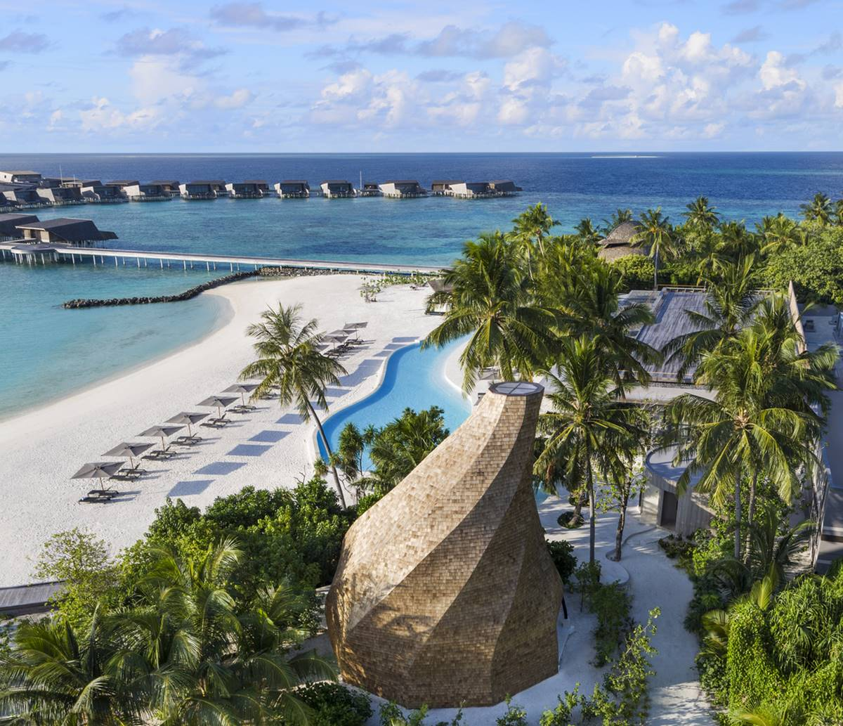 St. Regis Maldives Vommuli Resort - the lagoon