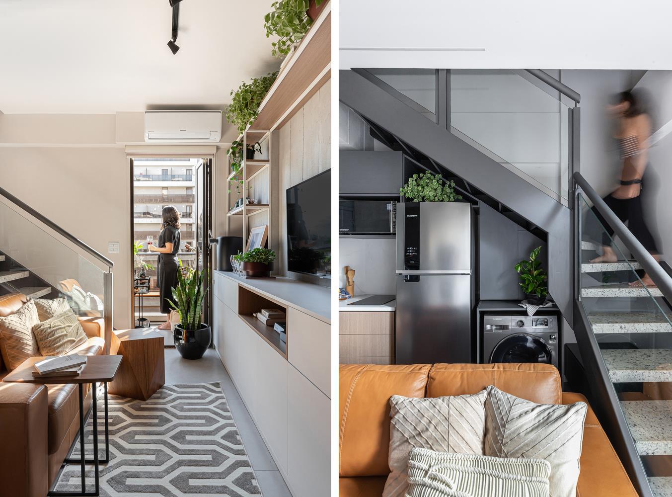 Duplex home interior design