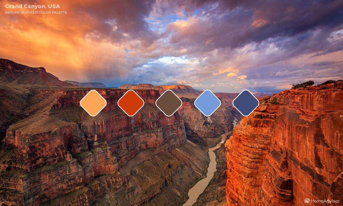 Grand Canyon Color Palette