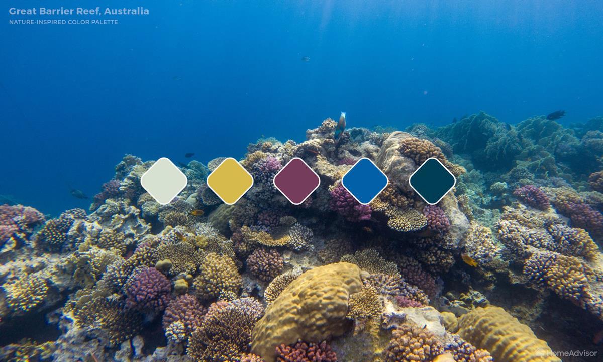 Great-Barrier Reef Color Palette