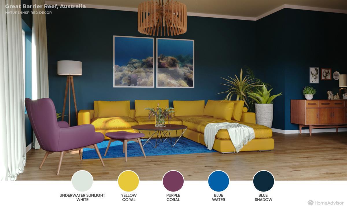 Great Barrier Living Room