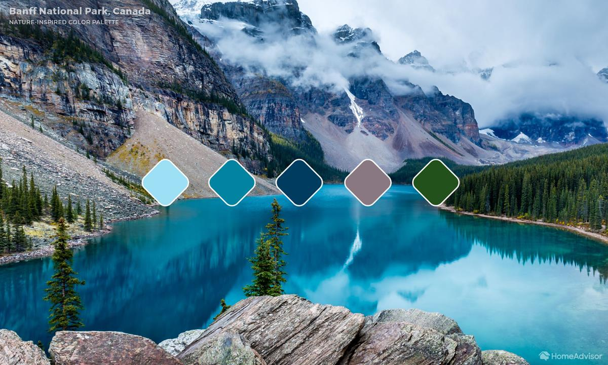 Banff-National Park Color Palette