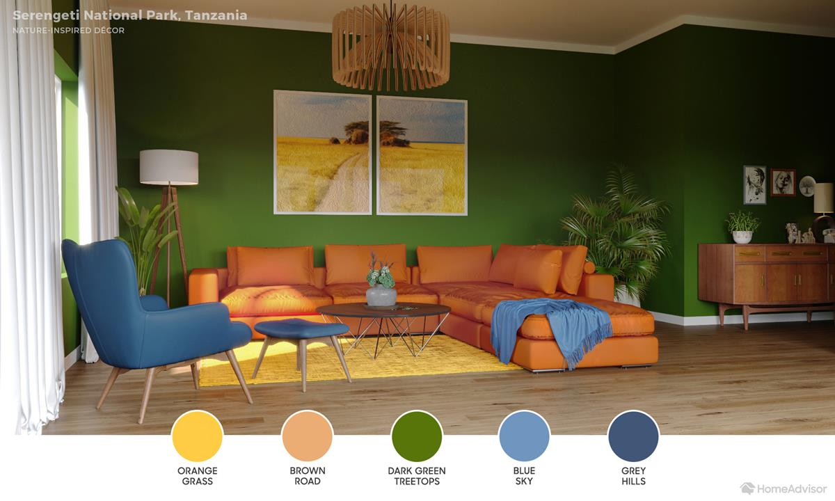 Serengeti Living Room