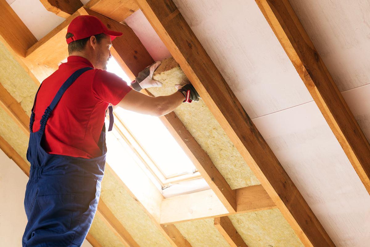 Appling attic insulation