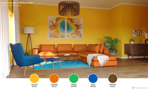 Living Room Color Palettes Inspired by Natural Landscapes