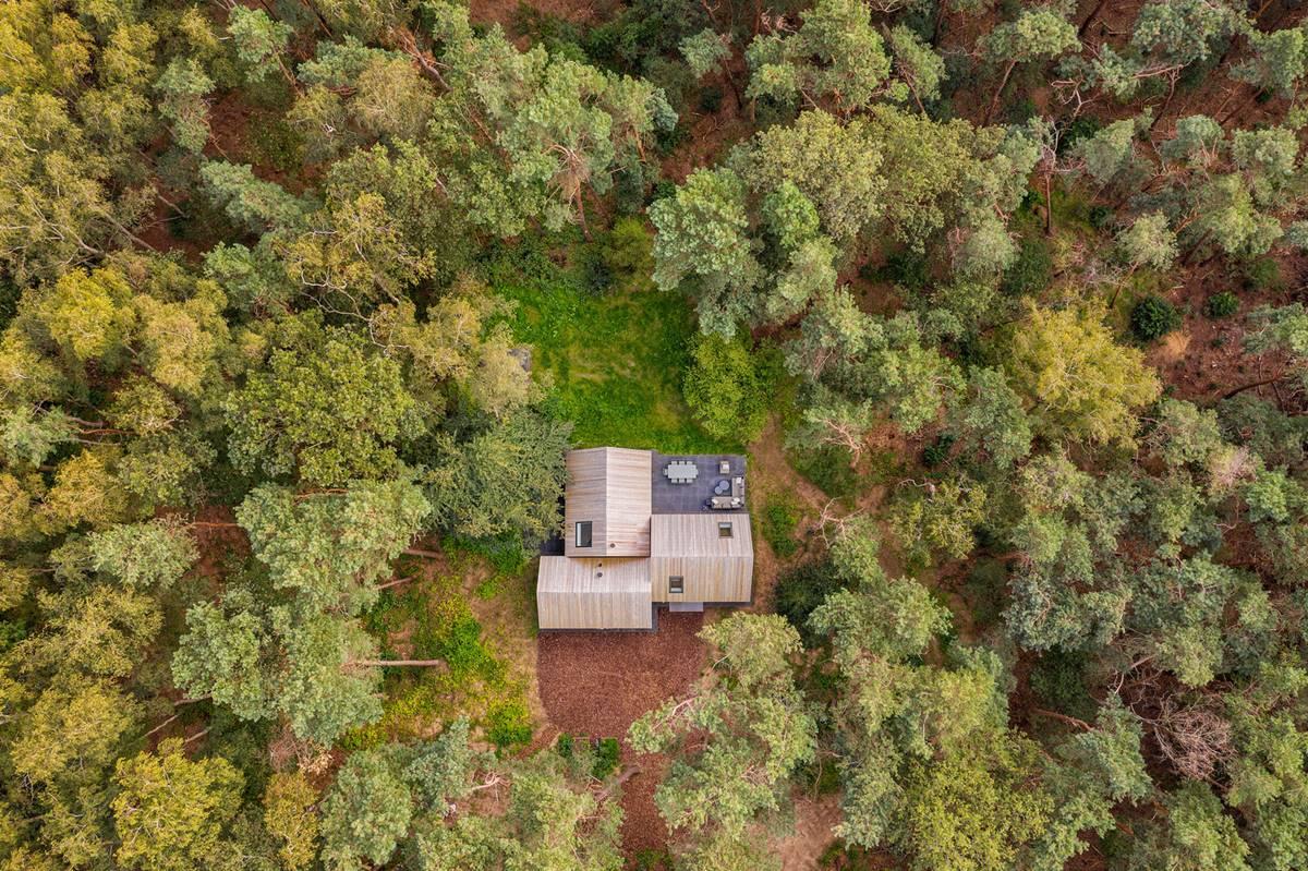 Villa Tonden by HofmanDujardin - view from above