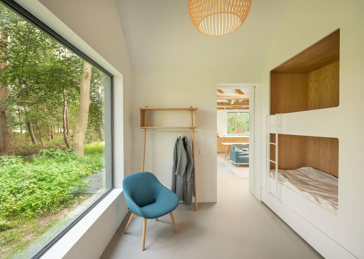 Children's room with bunk beds