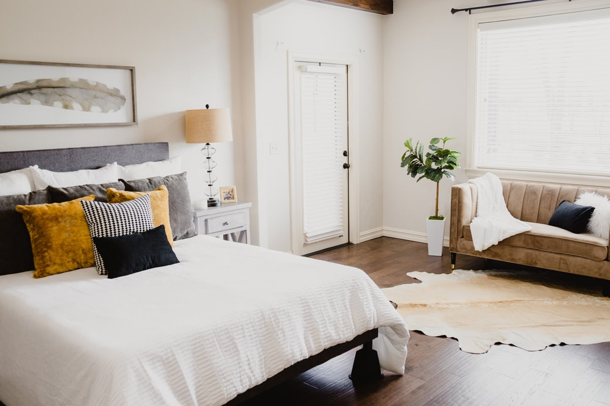 Upgrade bedroom on a budget