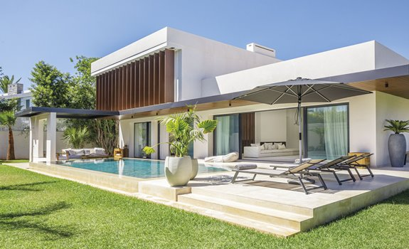 Villa C:  A Modern House in Casablanca Combining Both Modernism and Functionalism